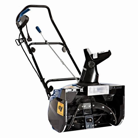 Snow Joe SJ623E 18英寸 15安培电动铲雪机 169加元特卖并包邮!