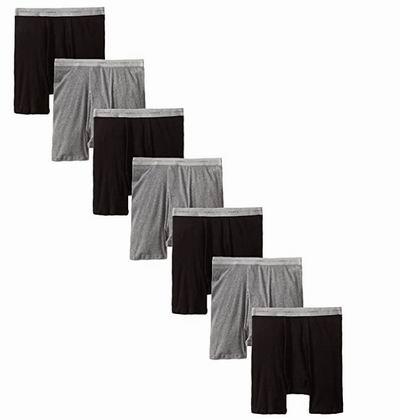精选 Hanes 恒适 纯棉内衣、内裤、T恤、袜子6.5折起:内裤1.6加元、T恤 3.9加元