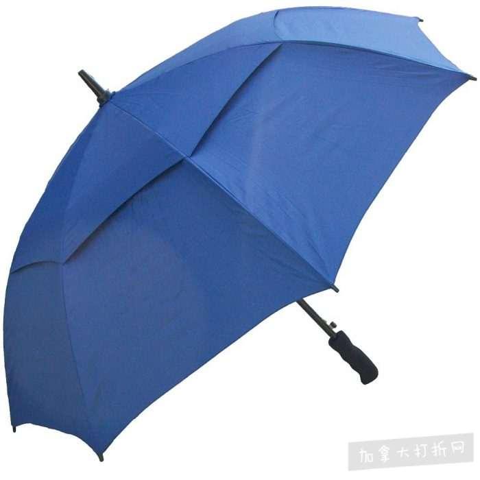 RainStoppers W016N 48英寸大号双层自动雨伞 16.91加元,原价 27.78加元