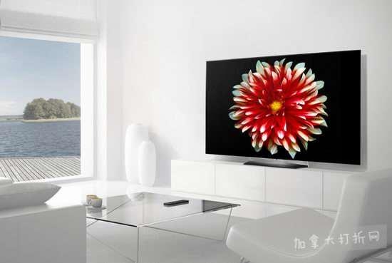 LG Electronics OLED55B7P 2017 55英寸高清智能电视 1899.99加元,原价 3999.99加元,包邮