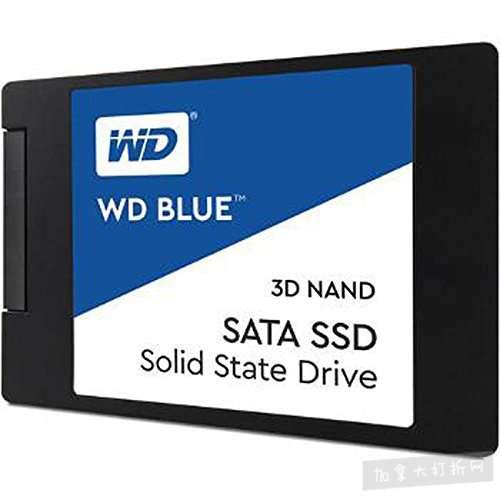 历史新低!WD 西数 Blue 3D NAND 500GB PC SSD 固态硬盘 74.99加元包邮!