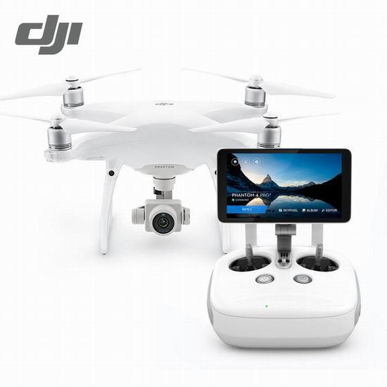 历史新低!DJI 大疆 Phantom 精灵4 Pro+ 四轴航拍飞行器无人机 2065.6加元包邮!