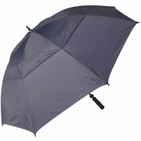 手慢无!历史新低!RainStoppers W027N 60英寸 双层防风雨伞2.8折 8.49加元清仓!