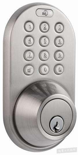 MiLocks DF-02SN 电子密码门锁4.4折 89.4加元包邮!
