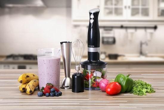 历史新低!Utopia Home 高级多功能手持式料理棒/搅拌器3.6折 24.99加元!