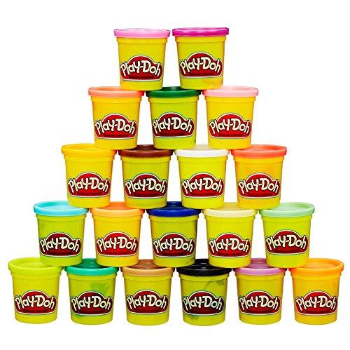 金盒头条!Play-Doh 培乐多 橡皮彩泥20色超值装 13.99加元,原价 19.38加元