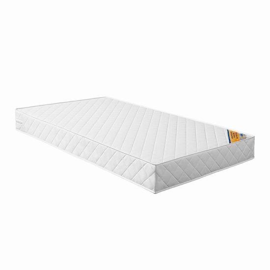 近史低价!Safety 1st 2合1双硬度 婴幼儿成长型床垫6折 59.97加元包邮!