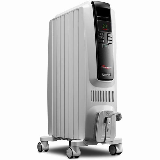 Delonghi 德龙 TRD40615ECA Dragon 数字程控电热油汀 134加元包邮!