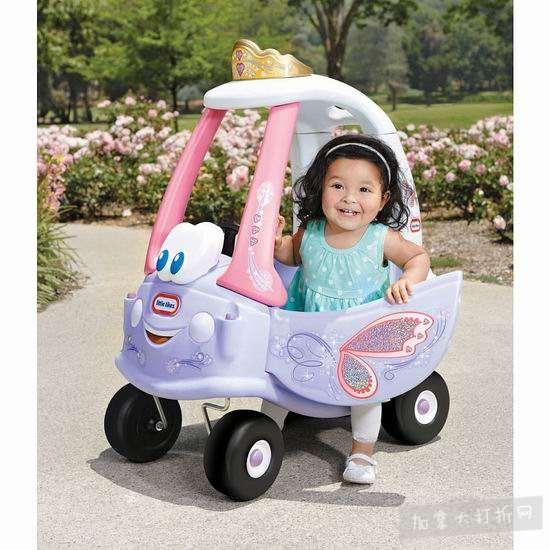 历史新低!Little Tikes 小泰克 小公主 舒适滑步小车4.7折 34.97加元包邮!