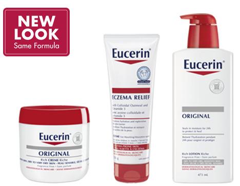 德国药妆品牌 Eucerin 优色林润保湿精华、万用修复膏、止痒膏 8折