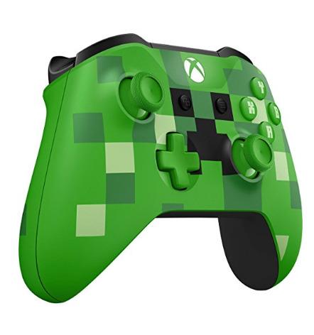 历史新低!Microsoft Xbox《我的世界》Creeper 版 无线游戏手柄/控制器5.9折 49.99加元包邮!