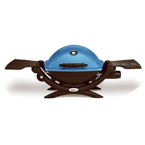 历史最低价!Weber 51080001 Q1200 蓝色 便携式焖烤炉/烧烤炉 229加元包邮