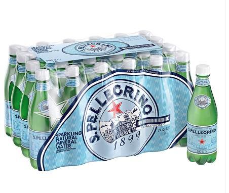 San Pellegrino 圣培露 天然气泡矿泉水(500ml x 24瓶) 23.88加元!