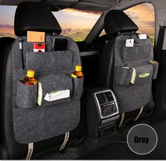 白菜价!UniTendo 加厚豪华 汽车座椅防脏防踢垫2件套 6.99加元清仓!3色可选!