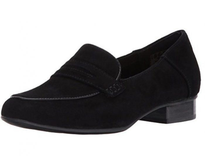 Clarks Keesha Cora 低跟乐福鞋51.82加元起特卖!2色可选!码不全!