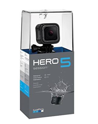 历史新低!GoPro HERO5 Session 4K 超高清运动摄像机套装4.2折 189加元包邮!仅限今日!