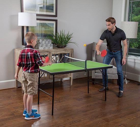 历史新低!JOOLA 德国优拉 Connect Magnetic 亲子娱乐 家用小乒乓球桌 131.47加元包邮!