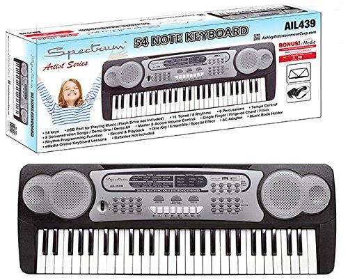 历史新低!Spectrum Ail 439 54键儿童电子琴4.1折 37.57加元包邮!