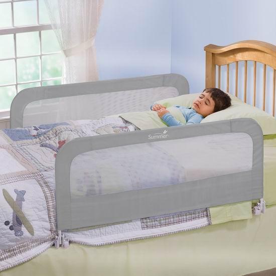 Summer Infant 床架安全护栏2件套7.7折 45.97加元+包邮