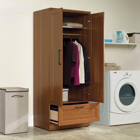 Sauder Homeplus 橡木纹 时尚立式衣柜3.7折 182.15加元包邮!