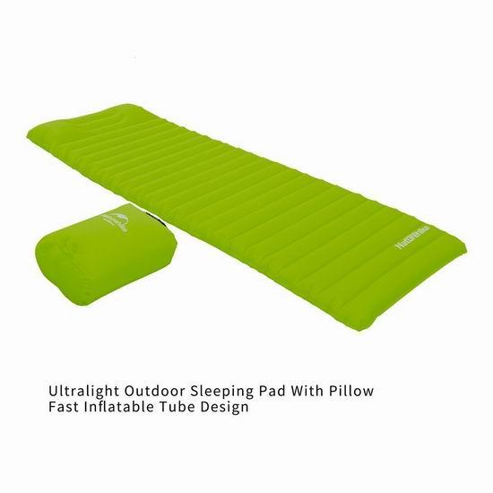 白菜价!OUTAD 超轻便携式充气床垫2.1折 15加元限量特卖并包邮!2色可选!