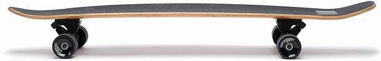 销量冠军!Ten Toes Boards Emporium Zed 44英寸复古竹制滑板4.2折 33.38加元!