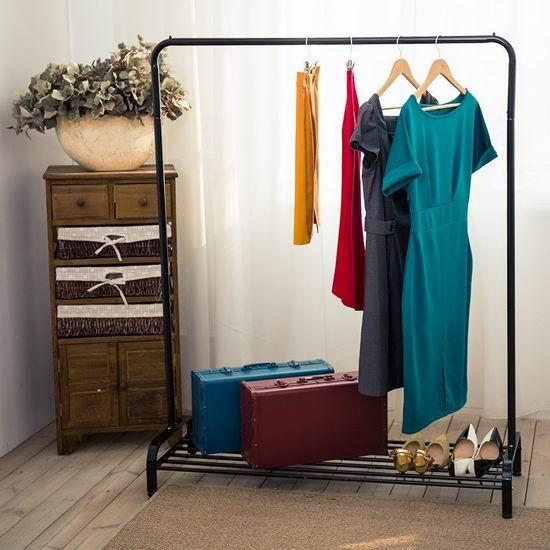 LANGRIA 重型商用级 黑色晾衣架 45.99加元限量特卖并包邮!