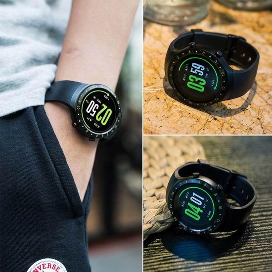 白菜价!手慢无!Diggro DI07 安卓蓝牙WiFi 心率监测 GPS导航 3G电话 智能手表1.7折 29.99加元清仓!