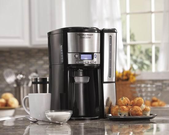 Hamilton Beach 47950 12杯量 可编程咖啡机7.5折 59.98加元包邮!