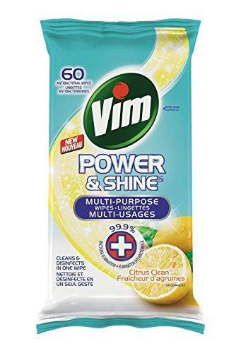 历史新低!Vim 抗菌消毒清洁湿巾(60张) 1.24加元!2种香型可选!