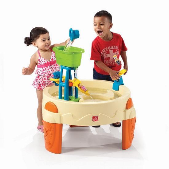 Step2 Big Splash 儿童多功能玩水台 64.94加元包邮!支持次日送达!