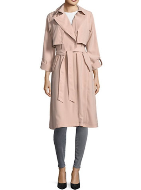 精选 London Fog 、Karl Lagerfeld Paris、Vince Camuto等品牌女款风衣 5折特卖!