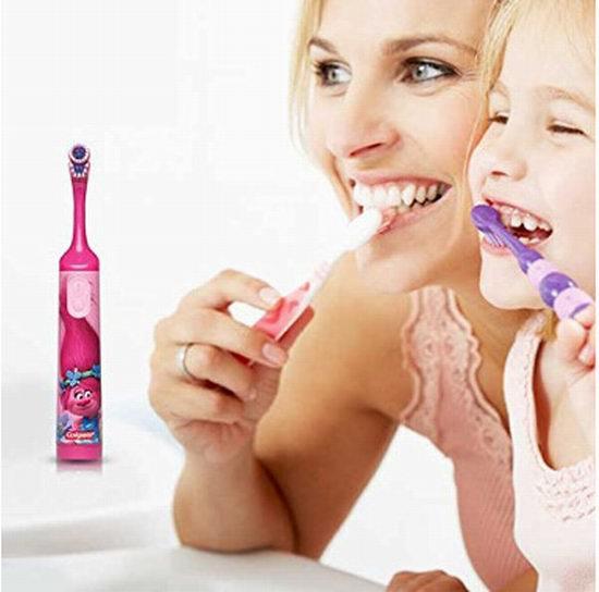 Colgate 高露洁卡通系列 儿童电动牙刷4.2折 3.99加元!2款可选!