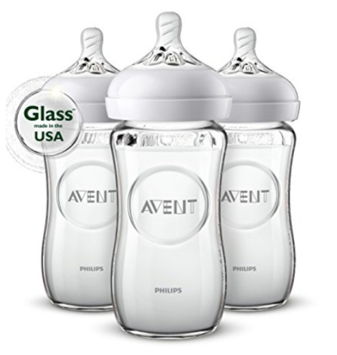 Philips AVENT 新安怡 经典宽口径防胀气奶瓶 3只装 22.99加元(8 oz),原价 31.99加元