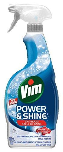 Vim Power & Shine 浴室清洁喷雾(700ml) 2.82加元!