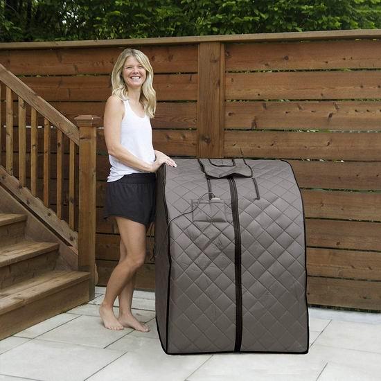 Radiant Saunas BSA6310 Rejuvenator 便携式远红外 汗蒸房/桑拿浴箱6折 256.88加元包邮!Home Depot同款349加元!