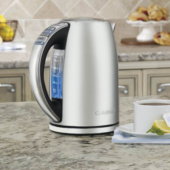 Cuisinart CPK-17C 可编程 精准温控 电热水壶 79.99加元包邮!
