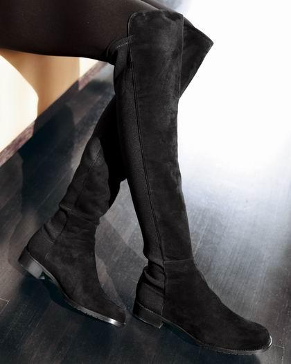 Stuart Weitzman Reserve 女式过膝长筒靴(8-8.5码)5.8折 496.03加元包邮!