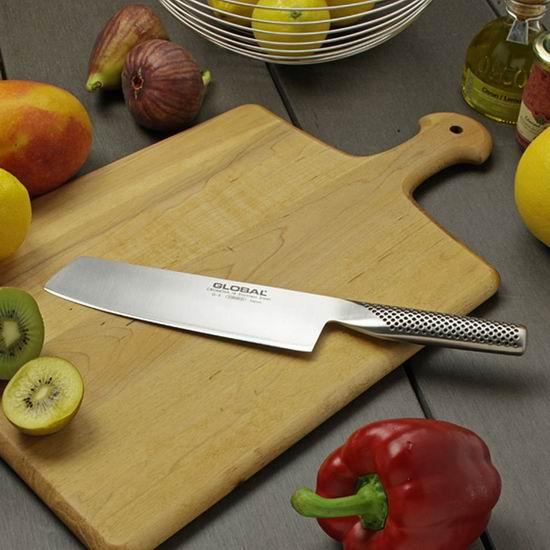 历史新低!Global 日本具良治 G-5 18厘米 专业切菜刀5.6折 91加元包邮!