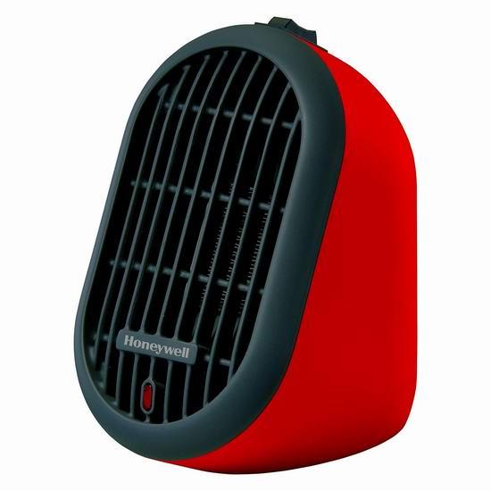 Honeywell HCE100RCD1 个人迷你电取暖器 19.99加元!2色可选!