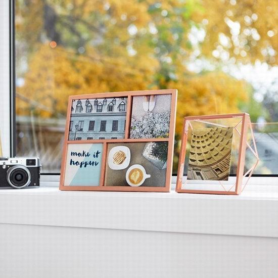 照片记录着美好的瞬间,承载着满满的回忆!Umbra创意相框 8折起特卖!