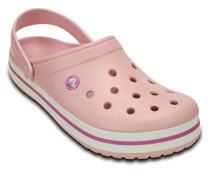 Crocs Unisex Crocband Clog粉色儿童洞洞鞋 20.27加元,原价 49.99加元