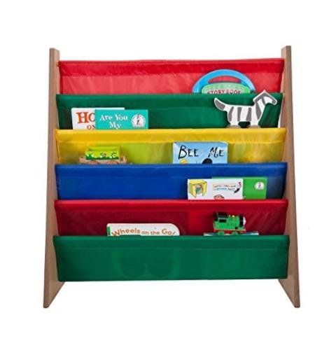 史低价!Saganizer 5层儿童彩色布艺书架 33.99加元,原价 84.72加元