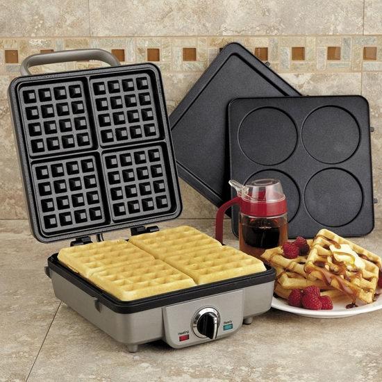 Cuisinart WAF-350C 比利时华夫饼机 99.99加元包邮!