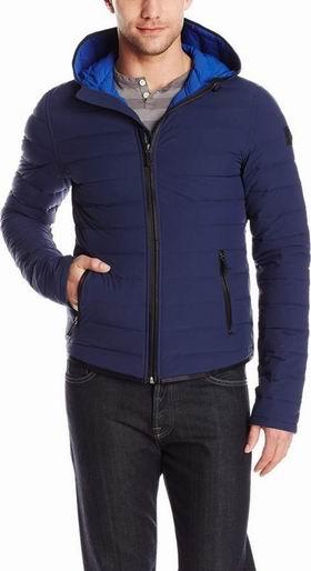 Moose Knuckles Fairfield 男士轻型蓝色羽绒服(XL码)4.3折 326.43加元包邮!