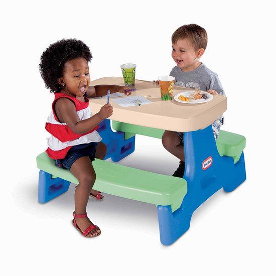 Little Tikes 小泰克 Easy Store 儿童餐桌/游戏桌套装4.9折 59.97加元包邮!