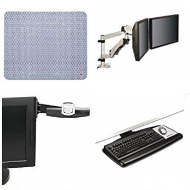 金盒头条:精选6款 3M 双屏显示器支架、显示器文件夹架、鼠标垫、笔记本支撑架等4.2折起!