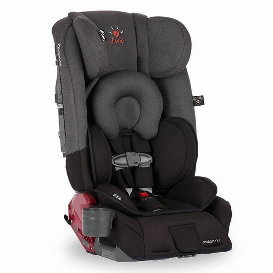 白菜速抢!历史新低!Diono 谛欧诺 Radian RXT 成长型儿童汽车安全座椅5.8折 231.19加元包邮!