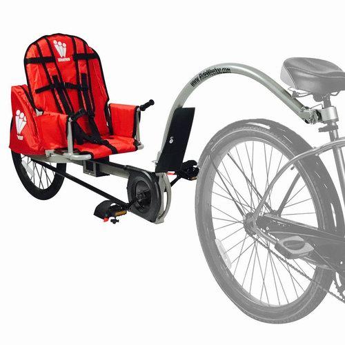 超级白菜!Weehoo iGo 自行车拖车0.5折 36.02加元包邮!