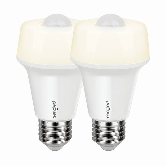 Sengled 60瓦等效 双模式 运动感应LED节能灯2件套 18.69加元限量特卖!